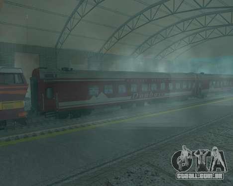 Compartimento de carro Donetsk-Moscovo para GTA San Andreas