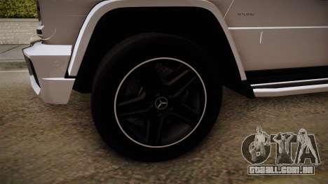Mercedes-Benz G65 AMG para GTA San Andreas