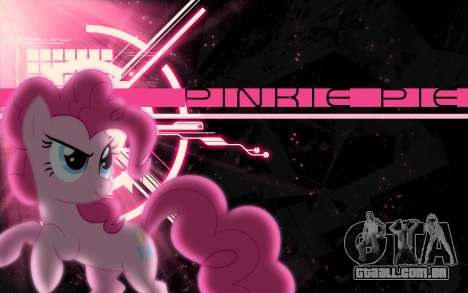 As telas de carregamento de My Little Pony para GTA San Andreas quinto tela
