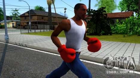 Red Boxing Gloves Team Fortress 2 para GTA San Andreas segunda tela
