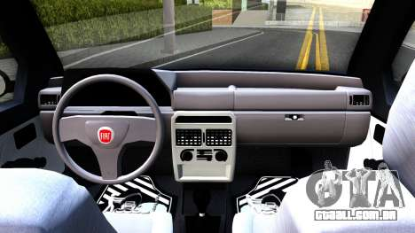 Fiat Uno Fire Mille V1.5 para GTA San Andreas vista interior