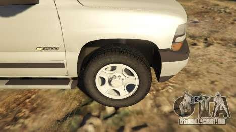 2000 Chevrolet Silverado 1500 para GTA 5