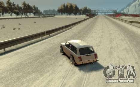 VAZ 2104 VFTS para GTA 4 vista de volta