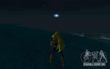 Stella Rock Outfit from Winx Club Rockstars para GTA San Andreas terceira tela