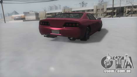 Jester Winter IVF para GTA San Andreas esquerda vista