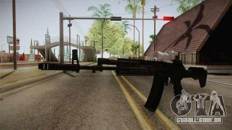 Call of Duty Ghosts - AK-12 with Scope para GTA San Andreas segunda tela