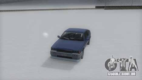Blista Compact Winter IVF para GTA San Andreas vista direita