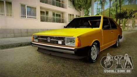 Volkswagen Passat 1981 para GTA San Andreas