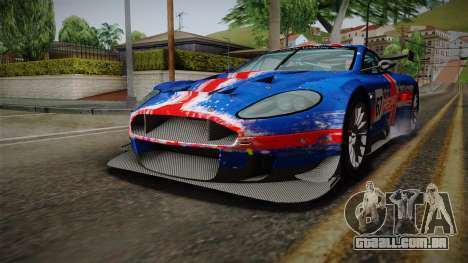 Aston Martin Racing DBRS9 GT3 2006 v1.0.6 YCH v2 para GTA San Andreas