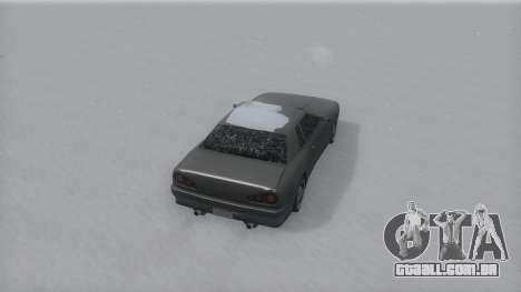Elegy Winter IVF para GTA San Andreas esquerda vista