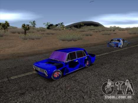 VAZ 2101 BC para GTA San Andreas esquerda vista