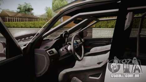 Ford Explorer 1996 Drag para GTA San Andreas traseira esquerda vista