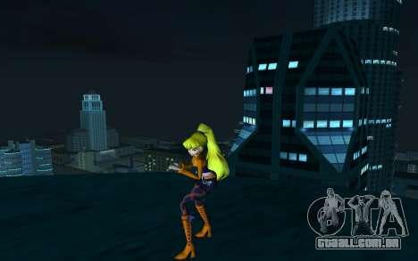 Stella Rock Outfit from Winx Club Rockstars para GTA San Andreas segunda tela
