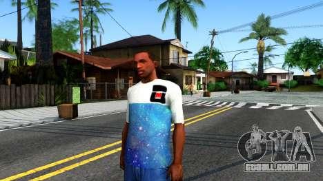 Design Galaxy T-Shirt para GTA San Andreas
