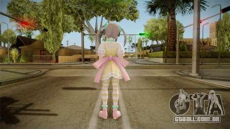 Senran Kagura: Shinovi Versus - Minori para GTA San Andreas terceira tela