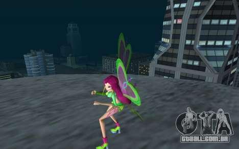 Fairy Roxy from Winx Club Rockstars para GTA San Andreas segunda tela