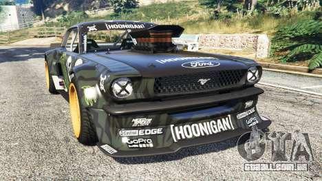 Ford Mustang 1965 Hoonicorn [add-on] para GTA 5