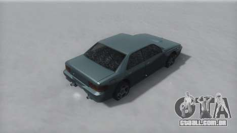 Sultan Winter IVF para GTA San Andreas esquerda vista