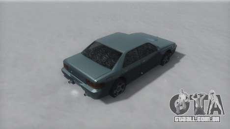 Sultan Winter IVF para GTA San Andreas esquerda vista