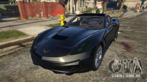 GTA 5 Drag Chevrolet Corvette C7 voltar vista