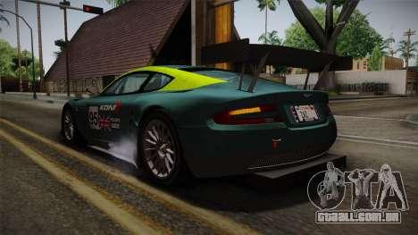Aston Martin Racing DBRS9 GT3 2006 v1.0.6 YCH v2 para as rodas de GTA San Andreas
