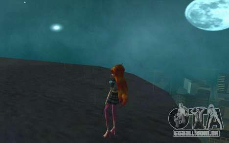 Bloom Rock Outfit from Winx Club Rockstar para GTA San Andreas terceira tela