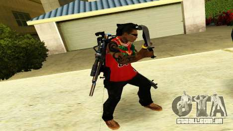 Crocodile Dundee Knife OUTBACK para GTA San Andreas