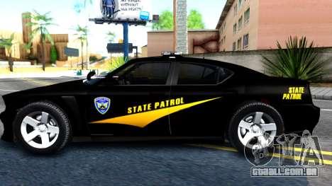 Bravado Buffalo State Patrol 2013 para GTA San Andreas esquerda vista