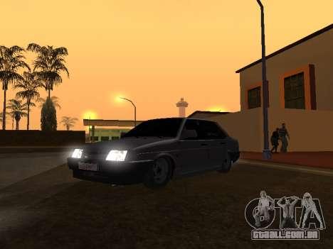 VAZ 21099 BPAN para GTA San Andreas esquerda vista