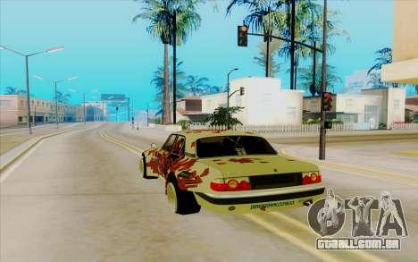 Volga GAZ 31105 para GTA San Andreas traseira esquerda vista
