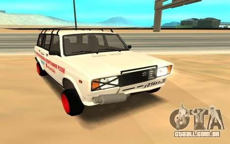 VAZ 2104 BK para GTA San Andreas