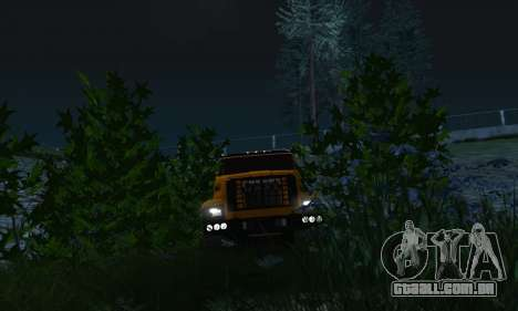 Ural Caminhão De Combustível Próximo para vista lateral GTA San Andreas