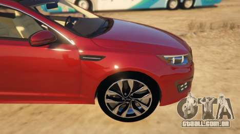GTA 5 KIA Optima 2014 vista lateral direita