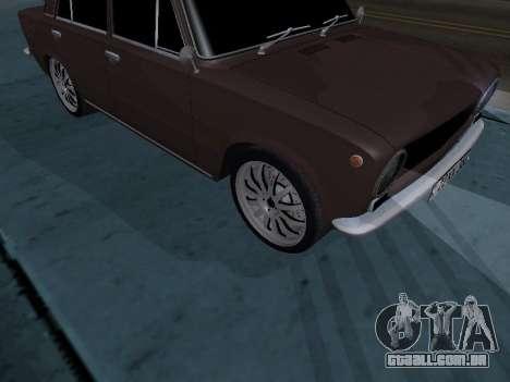 VAZ 2101 arménio para GTA San Andreas vista traseira