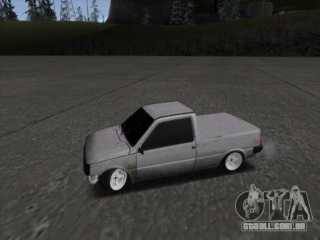 VAZ 1111 Drift para GTA San Andreas esquerda vista