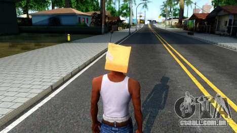 Bot Fan Mask From The Sims 3 para GTA San Andreas