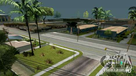 Brilhante timecyc para GTA San Andreas quinto tela