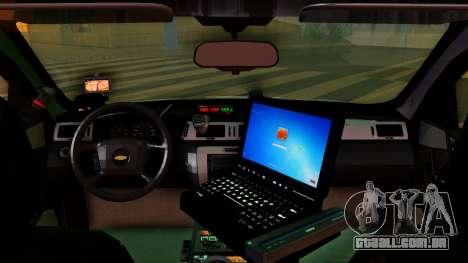 2008 Chevrolet Impala LTZ County Sheriff para GTA San Andreas vista direita