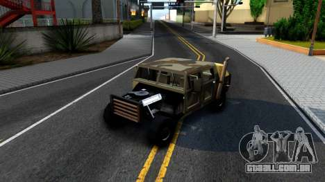 New Patriot GTA V para GTA San Andreas vista interior