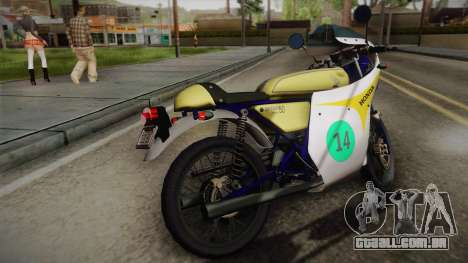 Honda Dream (RC142) 1988 para GTA San Andreas esquerda vista
