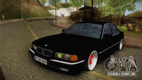 BMW 7 Series E38 Low para GTA San Andreas