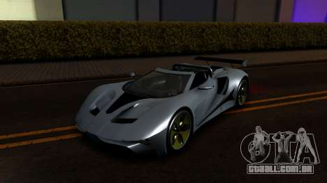 GTA V Vapid FMJ Roadster para GTA San Andreas vista direita