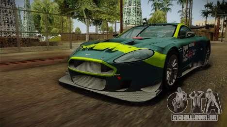 Aston Martin Racing DBR9 2005 v2.0.1 Dirt para as rodas de GTA San Andreas