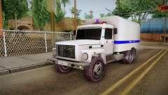 GAZ 3309 Polícia para GTA San Andreas