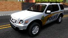 Ford Explorer Slicktop Metro Police 2010