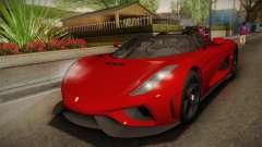 Koenigsegg Regera 2016 para GTA San Andreas