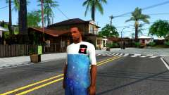 Design Galaxy T-Shirt para GTA San Andreas