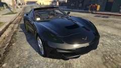 Drag Chevrolet Corvette C7