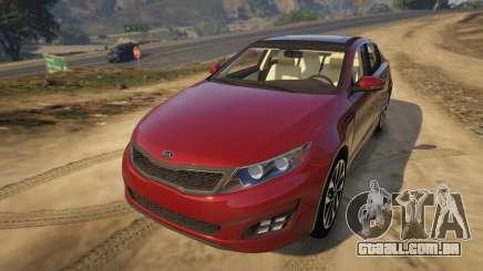 KIA Optima 2014 para GTA 5