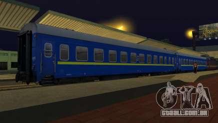 Compartimento de carro caminhos-de-ferro ucraniano para GTA San Andreas